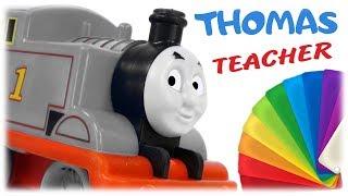 Thomas Teacher Learn Colors for Kids