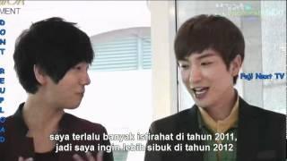 [INDO SUB] 111202 FUJ1 N3XT TV (cut) - Super Junior