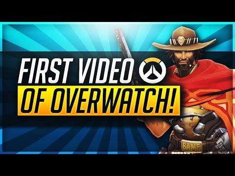FIRST OVERWATCH STREAM! (Overwatch Gameplay)