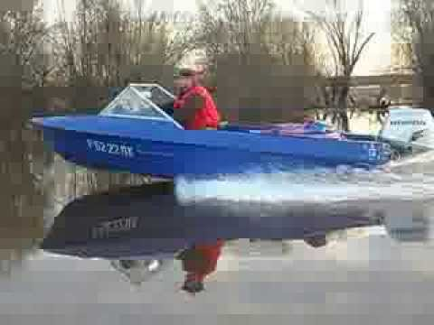 лодка крым под 40 ямахой