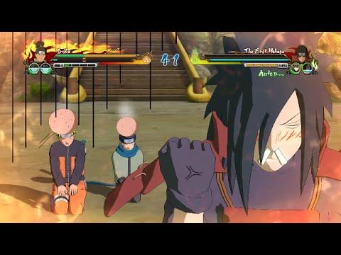 Naruto Ultimate Ninja Storm Revolution - Madara x Naruto x Konohamaru CUJ Character Swap (PC)