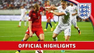Official - Slovakia 0-1 England (2018 World Cup Qualifier) | Goals & Highlights