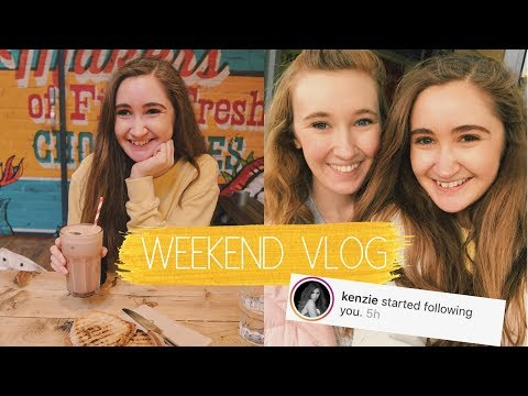 Xxx Mp4 WEEKEND IN MY LIFE Visiting My Sister Iced Hot Chocolates Kenzie Ziegler Follows Us 3gp Sex