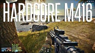 THE HARDCORE M416 - Battlefield 4