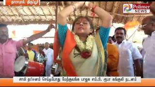 BJP MP Roopa Ganguly tirupur temple function