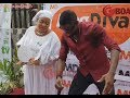 Download Video Download Toyin Ashewo To Re Mecca Shows Off Her Dance Steps In Her White Garment At Mercy Aigbe's Boutique 3GP MP4 FLV