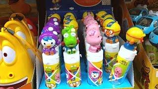 뽀로로 타요 라바 디즈니 겨울왕국 엘사 안나 약국에서 팔고 있는 장난감 종류 모음 뽀롱뽀롱 뽀로로 4기 타요 시즌3 전체 출연 캐릭터들 유아동영상, 어린이놀이