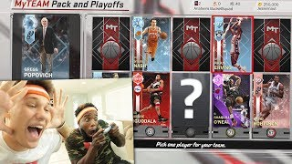 2 PLAYER DRAFT W/ CASHNASTY NBA 2K18 DRAFT (PACK AND  PLAYOFFS)