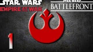 SW: Battlefront Commander (Rebels) Ep.1 ~ The Republic has Fallen, The Rebellion has Begun