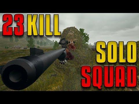 23 Kill Solo Squad Taking Every Fight PUBG