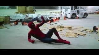 Captain America  Civil War Spiderman FIGHT SCENES