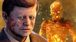 CRAZIEST COD ZOMBIE BOSS EVER! Black Ops Zombies EASTER EGG Fury's Temple Gameplay Walkthrough