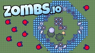 Zombs.io - The Epic Diamond Tier Base! - Top of the Leaderboard! - Zombs.io Gameplay - Top Player