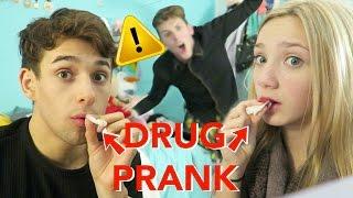 DRUG PRANK ON BOYFRIEND - EXTREME FREAK OUT