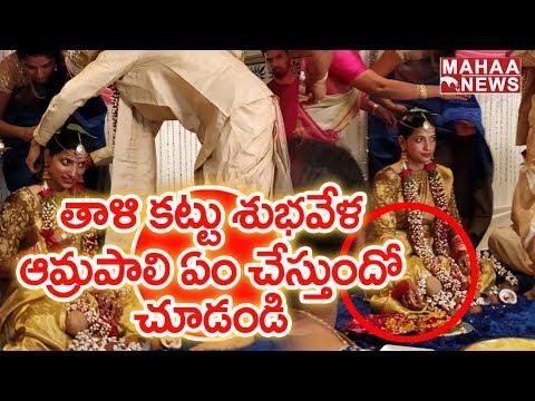 Xxx Mp4 IAS Officer Amrapali Exclusive Wedding Videos And Photos Mahaa News 3gp Sex