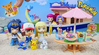 Pokemon Tropical Sweets | Miniature collection | Unboxing Video