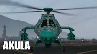 Gta 5 online akula.New stealth Helicopter that drops bombs.