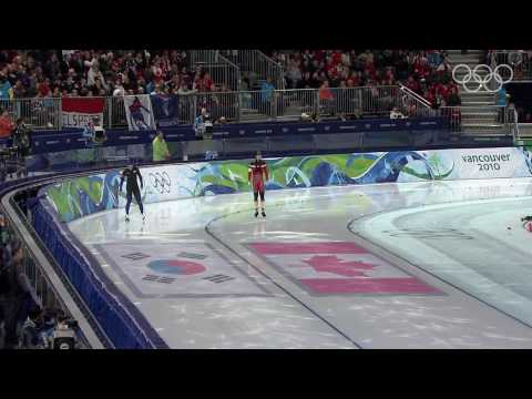 Men s 500M Speed Skating Highlights Vancouver 2010 Winter Olympic Games