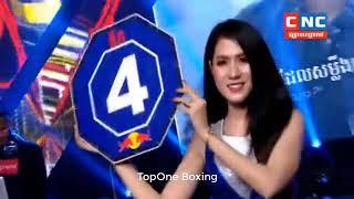 ម៉ឺន មេឃា ប៉ះ ផេតណងប៊ី , Muen Mekhea(Cam) Vs Phetnongbee (Thai), Khmer Boxing 2019