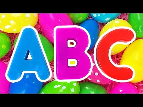 ABC Surprise Eggs 2 Learn Colors for Children Teach Preschool Kids the Alphabet by Busy Beavers