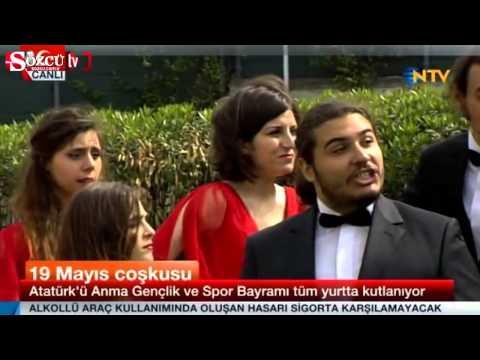 Boğaziçi Caz Korosu NTV yayınında Gezi'ye selam