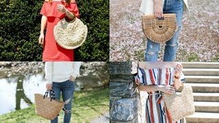 MY STRAW TOTE COLLECTION + REVIEWS ON EACH