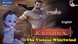 Little Krishna English - Episode 12 The Vicious Whirlwind