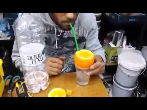 Como improvisar uma narguile