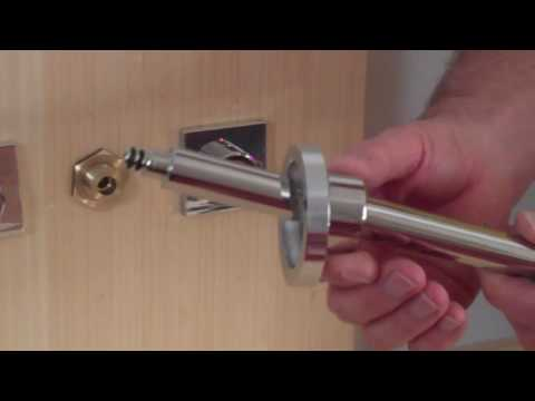 wall mount faucet installation