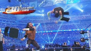 30-Second Fury -  Superstars' steel-bending chair attacks (Extended Cut)