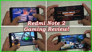Redmi Note 2 Gaming Review with Graphics Heavy games! Modern Combat 5, Ashpalt 8 many more