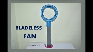 How to Make a Bladeless Fan using bucket at Home