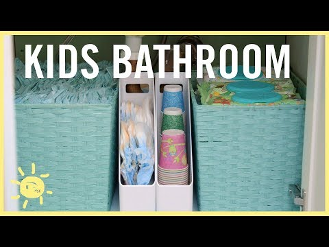 Xxx Mp4 ORGANIZE Kids Bathroom Easy Tips 3gp Sex