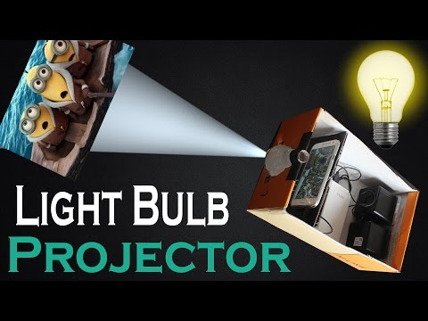 Xxx Mp4 How To Make Light Bulb Smart Phone Projector At Home Easy DIY Light Bulb And Shoe Box Projector 3gp Sex