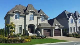 شاهد جمال المنازل في كندا Beautiful houses in Canada