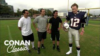 Conan Learns How To Kick A Field Goal - Conan25: The Remotes