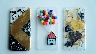 3 FARKLI TELEFON KABI /DIY PHONE CASES [Eng Sub]
