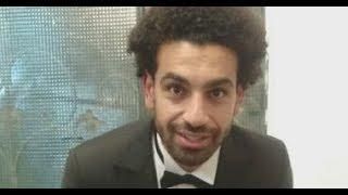 طفل يضايق محمد صلاح بسبب التصوير وصلاح يرد بطريقة مضحكة
