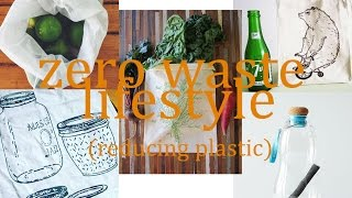Beginners Zero Waste Lifestyle- #1 reducing plastic & 30 Day Challenge