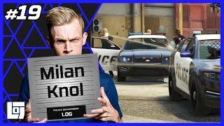 GTA Popo Escape met Milan | Solo Challenge | LOGNL #19