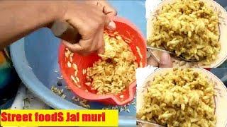 Bengali Street food of Dhaka * Spicy Mix Jal Muri * Testy Masala Muri in Mirpur Bangladesh