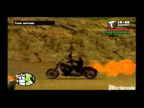Como conseguir la moto de Ghost Rider GTA San Andreas