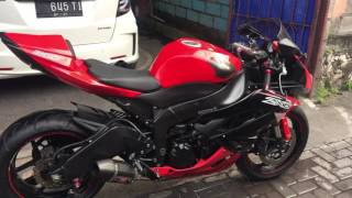 Kawasaki ZX6R with Yoshimura Full System Exhaust