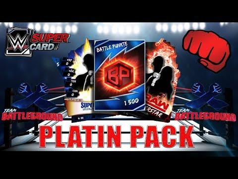 5 x TBG Platin Pack Opening - Summerslam 17 #Hype   WWE SuperCard
