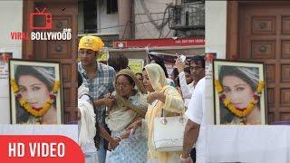 Tv Celebs & Family At Pratyusha Banerjee Prayer Meet | Balika Vadhu | Viralbollywood