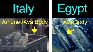 Assassin's Creed Origins: Amunet/Aya Body Explained (Bayek's Tomb)