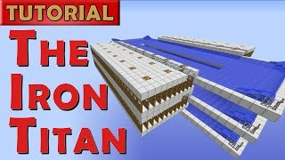 The Iron Titan - Minecraft Iron Golem Farm - 2600 Iron/hr (Works in 1.8+)