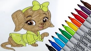 Whisker Haven Tales Lusy Disney Movies Coloring page 2016 New HD Video for Kids