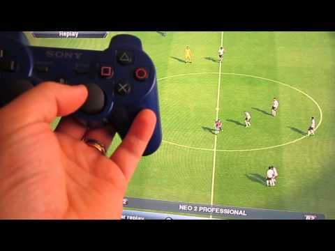 PES 2013 Como Fazer Gol na Saida do Meio Campo