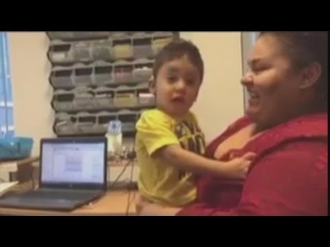 Boy With Extremely Rare Genetic Condition Hears Mom's Voice For First Time